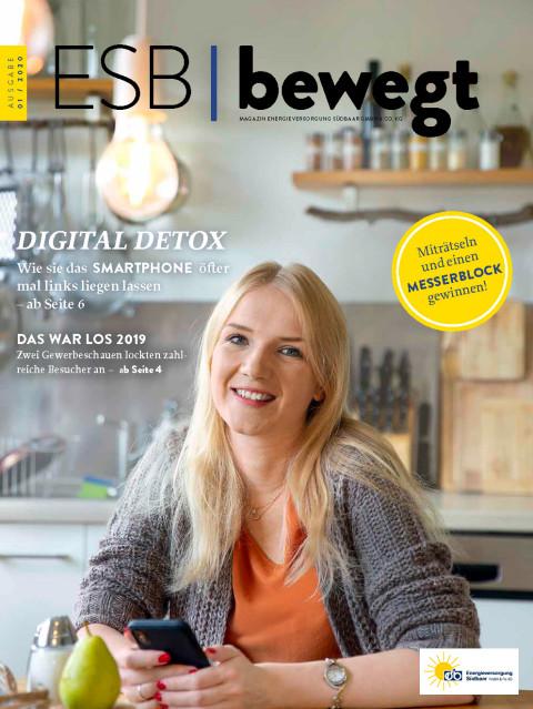 Cover Kundenzeitschrift Ausgabe 01-2019