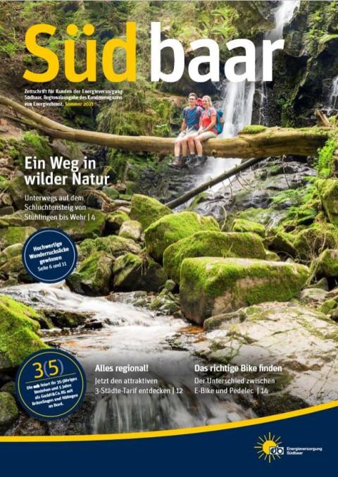 Cover Kundenzeitschrift Ausgabe 02-2021