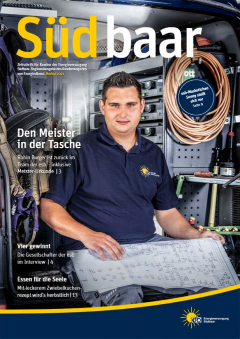 Cover Kundenzeitschrift Ausgabe 03-2021